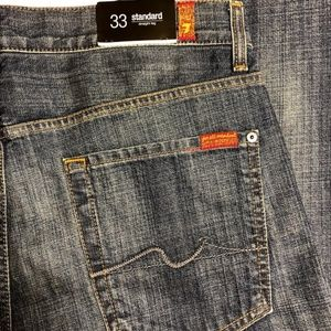 7 for all man kind jeans size 33